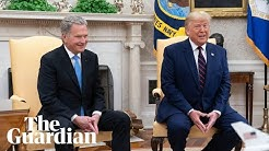 Trump and Finland's President Niinistö hold a news conference – watch live