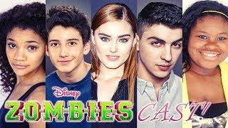🧟♂️ DISNEY ZOMBIES CAST REAL NAME AND AGE! 🧟♀️ ft. ZED, ADDISON, ELIZA, BONZO, BUCKY, ZOEY, BREE