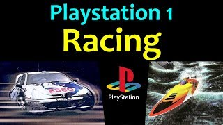 10 awesome PS1 Racing games 😍 Video 3 ... (Gameplay)