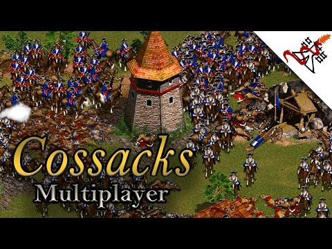 Cossacks Multiplayer - 2vs2 The Great Wall | Total Annihilation [1080p/HD]