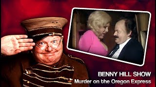 Murder on the Oregon Express - Classic Benny Hill Show