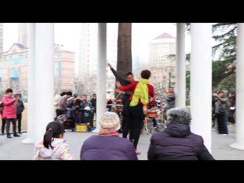 FuXing Park Dancing - Shanghai, China