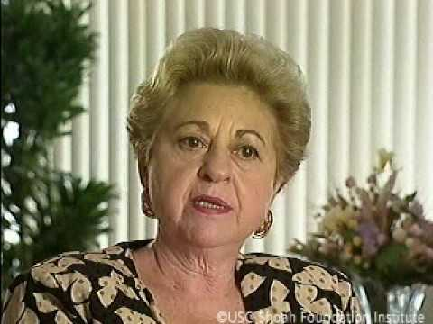 Holocaust Survivor Mary Natan Testimony