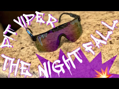 UNBOXING & REVIEW THE NIGHT FALL POLARIZED BY PIT VIPER SUNGLASSES!