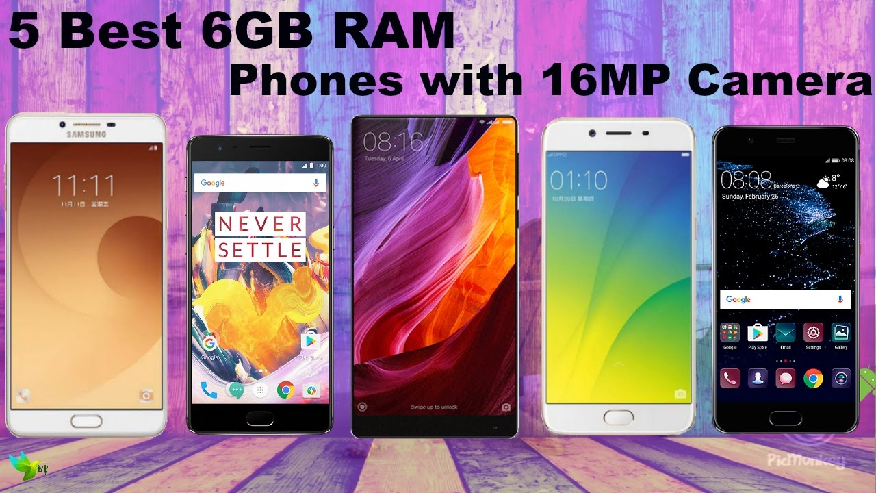 5 Best 6GB RAM Phones with 16MP+ Camera: 256GB ROM--YOU ...