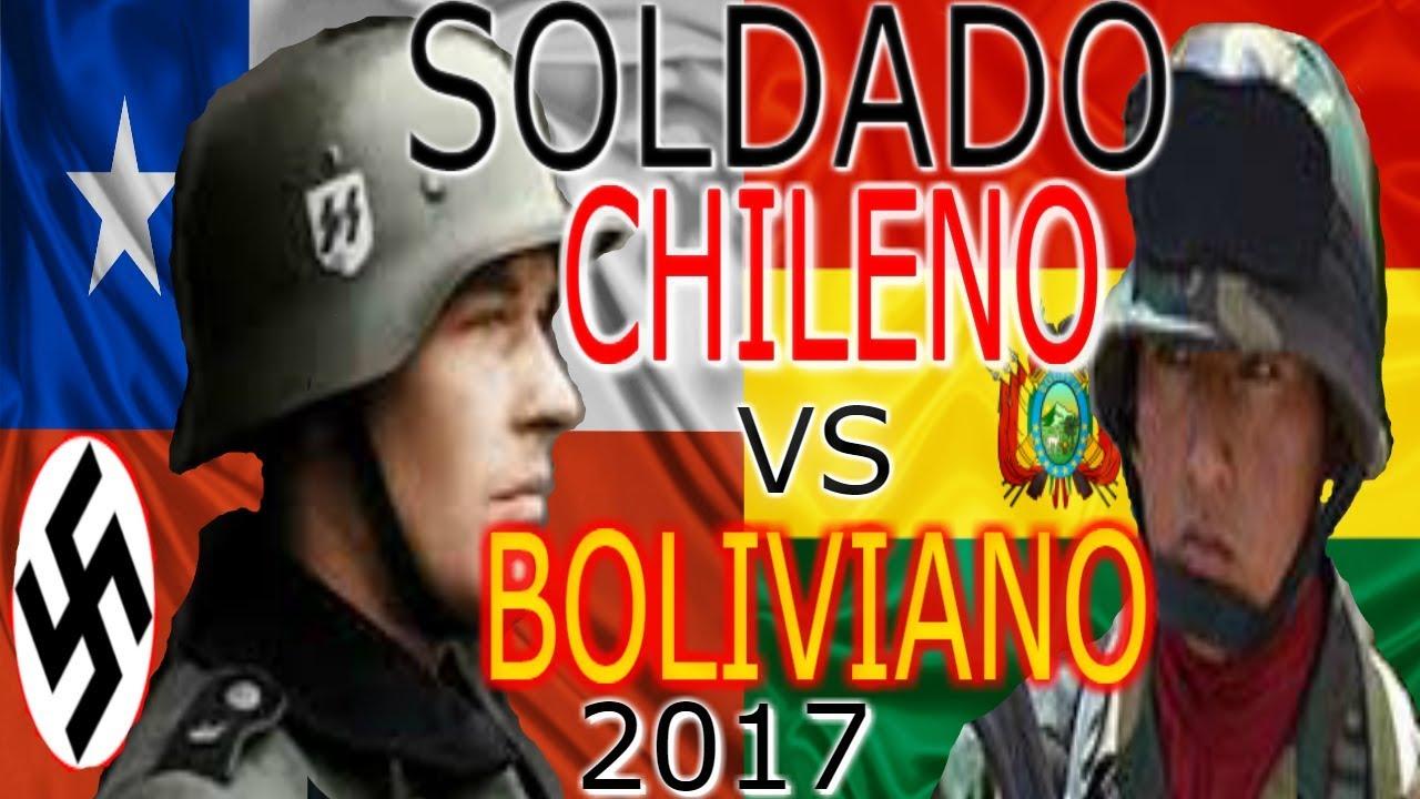 Soldado Boliviano Vs Chileno