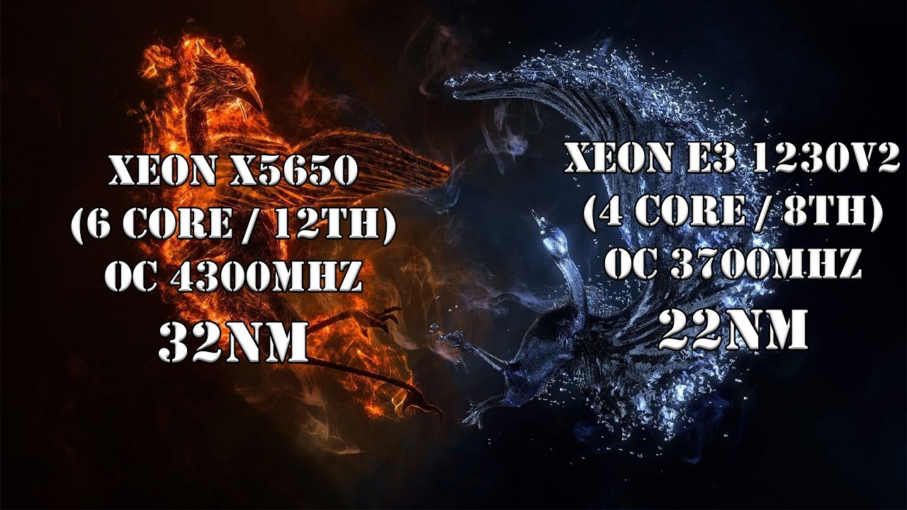 Неравная схватка с неожиданными результатами. Сравнение Xeon-нов E3 1230v2 vs X5650