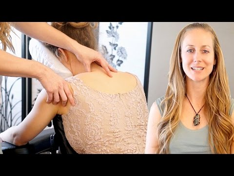 Chair Massage Therapy Techniques For Headaches & Carpal Tunnel Syndrome - Houston Chair Massage