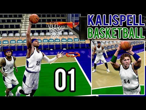 The Debut of Kalispell Basketball - College Hoops 2k8 Legacy Mode | Ep. 1