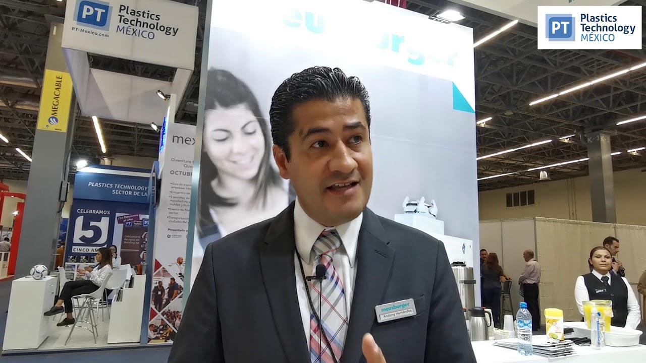 Andony Hernández, gerente de Meusburger en México.