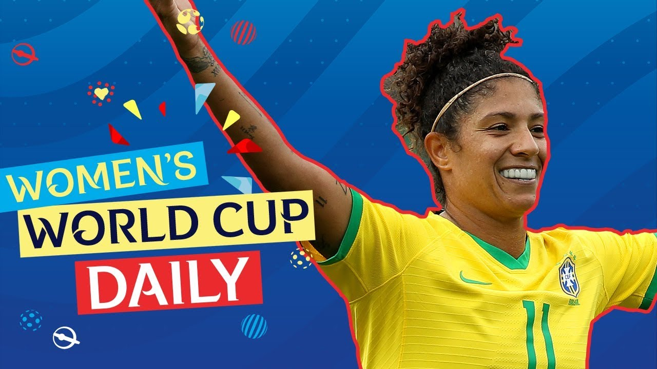 Cristiane's hat-trick sets the tournament on fire!   Women's World Cup Daily