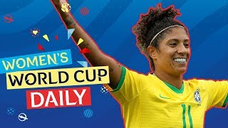 Cristiane's hat-trick sets the tournament on fire! | Women's World Cup Daily