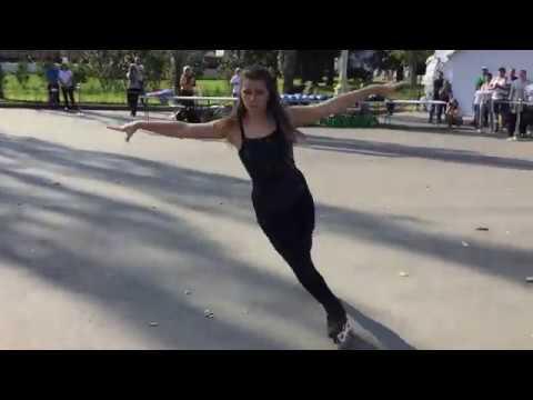 Veronika Kimont inline figure skating MFRS