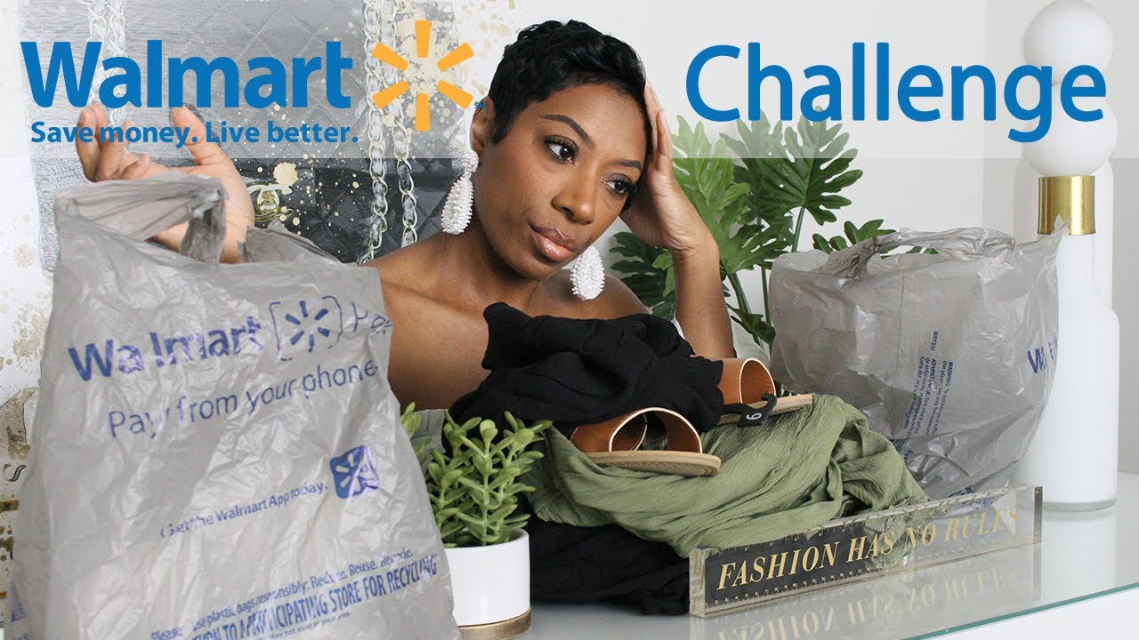 Balling On A Budget | $50 Walmart Outfits for Summer 2