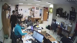 Фрагмент записи видео с камеры Link D46W