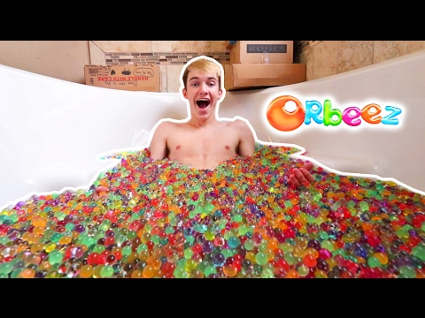 Thumbnail: BATHTUB FULL OF 100,000 ORBEEZ FANMAIL OPENING!
