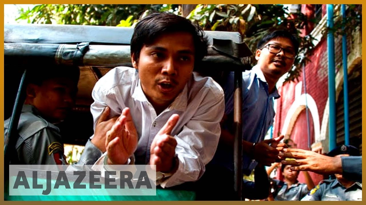 ?? Myanmar charges Reuters reporters under Official Secrets Act | Al Jazeera English