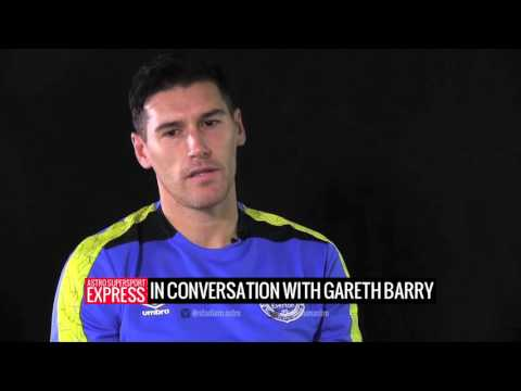 Chat with Collymore: Gareth Barry
