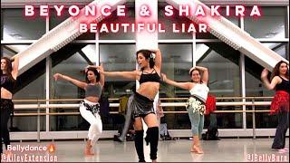 "Beyonce & Shakira ""Beautiful Liar"" BellydanceBURN - MUSIC VIDEO EDITION! | @AILEYEXTENTION"