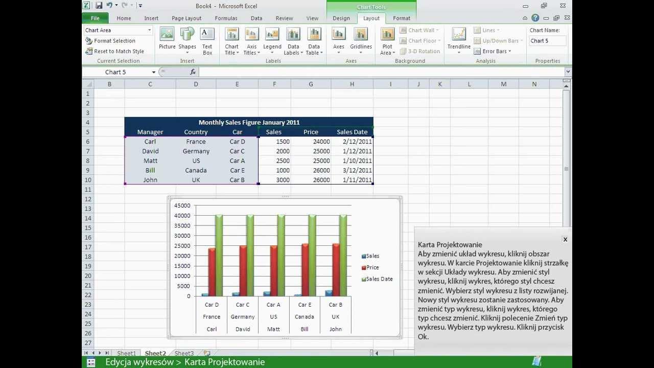 Excel 2010 edycja wykresw youtube excel 2010 edycja wykresw ccuart Choice Image