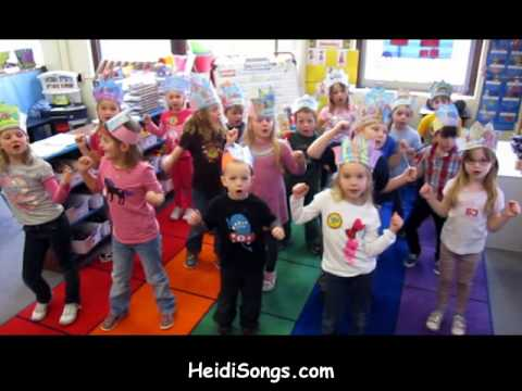100th day of school in song!