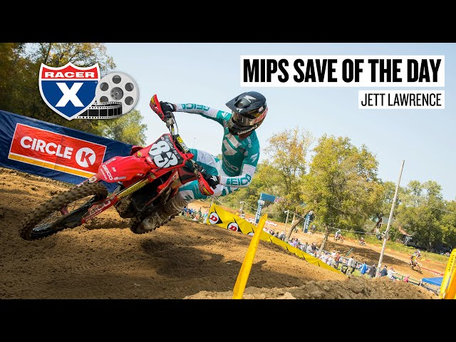 Motocross Save of the Day - Jett Lawrence - Spring Creek