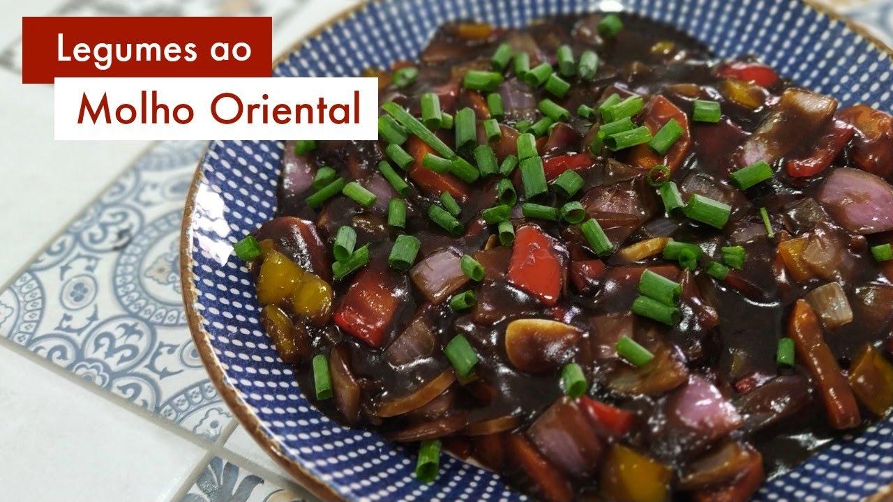Legumes ao Molho Oriental - Receita Prática e Deliciosa