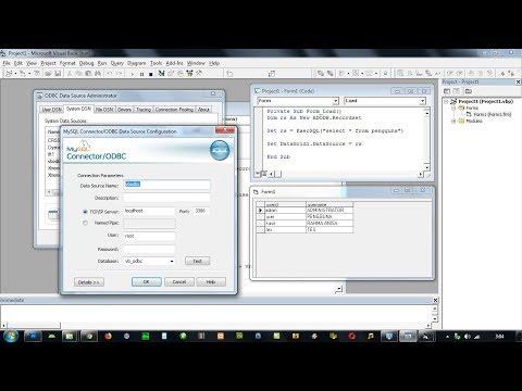 Cara Koneksi Visual Basic Ke Mysql