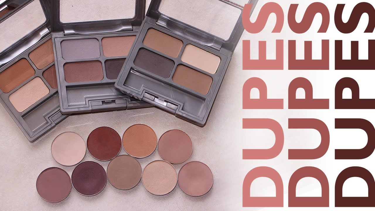 Frugal Fridays Drugstore Dupes For Mac Eyeshadows Youtube