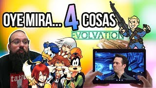Oye mira 4 cosas - KH rereremix, Project X Cloud Spencer, Castigos Fallout 76, Evolvation éxito mal