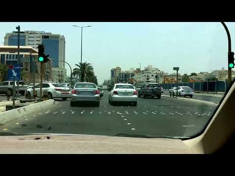 Driving in Jeddah Saudi Arabia