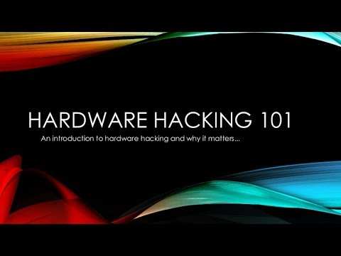 how to  Hardware Hacking