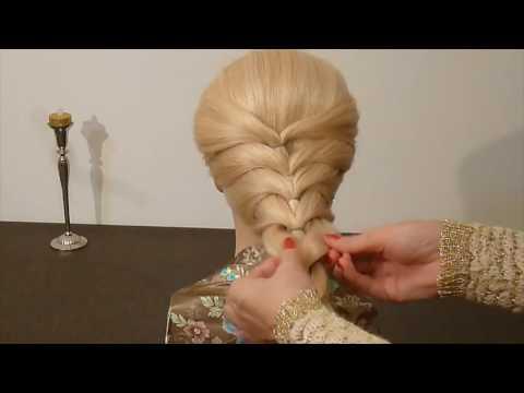 SUPER einfache Frisur selber machen für mitte/lange Haare: Schule/Alltag/Arbeit.Hairstyles.Peinados