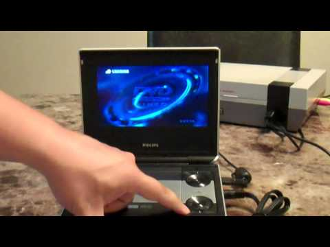 How To Play Games Through Your Portable DVD Player
