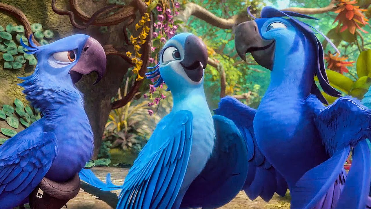 Beautiful Creatures Song Scene Rio 2 2014 Movie Clip Youtube