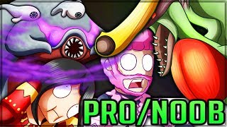 FATHER GIGGINOX + THE BRINGER OF DEVILJHO - Pro and Noob VS Monster Hunter! (Special Edition) #mh