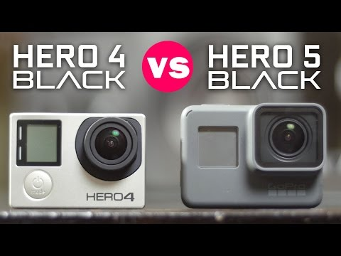 Gopro Hero 5 Vs Hero 4 >> Gopro Hero 5 Black Vs Hero 4 Black Youtube