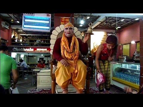 Famous Chotiwalla's restaurant in Rishikesh, India
