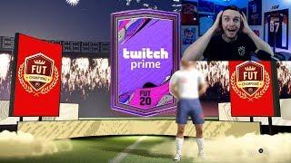 MY TWITCH PRIME PACK & ELITE FUT CHAMPIONS REWARDS - FIFA 20 ULTIMATE TEAM