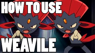 How To Use: Weavile! Weavile Strategy Guide ORAS / XY - Ice Cannon