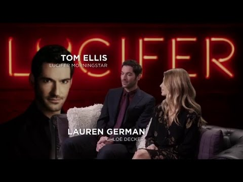 Lauren german and Tom ellis interview VostFr