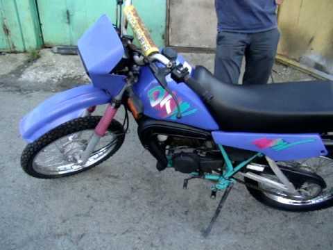 Yamaha Dt50x Swap Engine yz 85 By BARacing - YouTube
