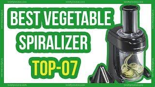 Top 10: Best vegetable spiralizer 2018