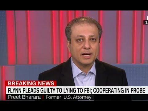 Former Federal Prosecutor Preet Bharara Weighs In On General Flynn's Guilty Plea