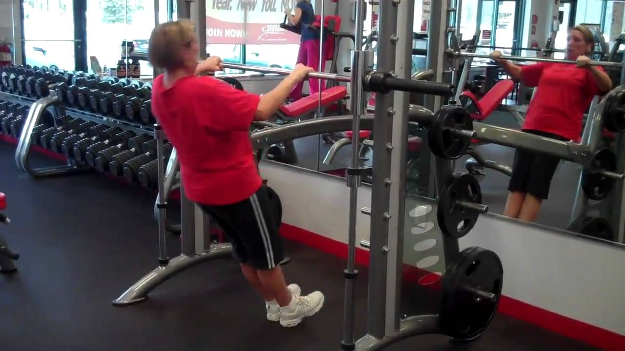 Inverted rows on smith machine youtube