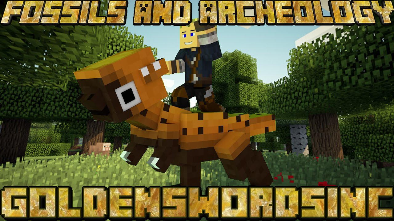 Minecraft Mod Showcase: Fossils And Archeology Mod (Create your own  dinosaurs!)