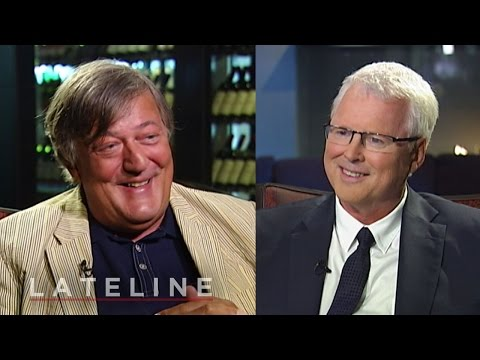 Stephen Fry on God, drugs and sex