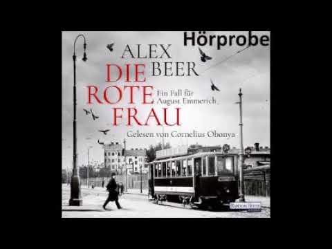 Die rote Frau (August Emmerich 2) YouTube Hörbuch auf Deutsch