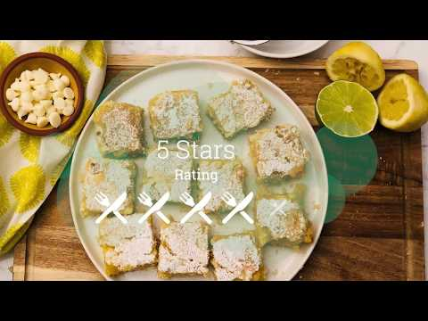 Chef'd Meal Kit Delivery Review | White Chip Lemon Bars Recipe