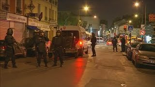 Paris shootings: Police raid apartment in Saint-Denis